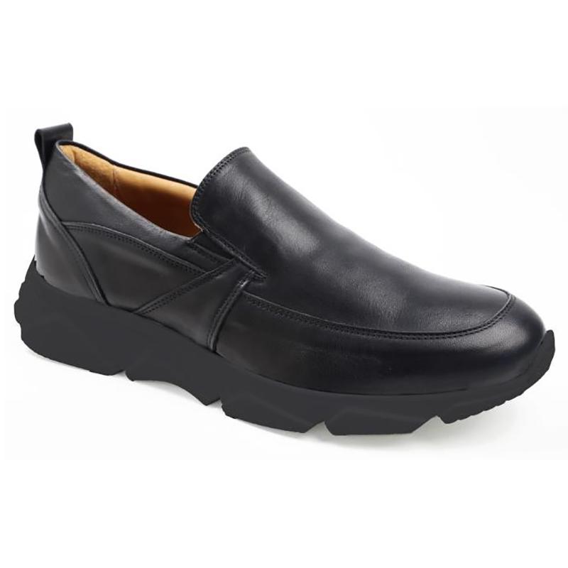 Bruno Magli Lorenzo Slip-on Shoes Black Image