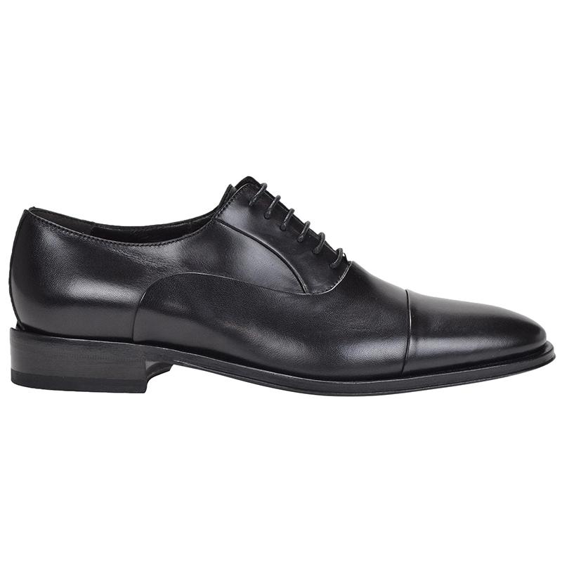 Bruno Magli Maioco Nappa Cap Toe Shoes Black Image