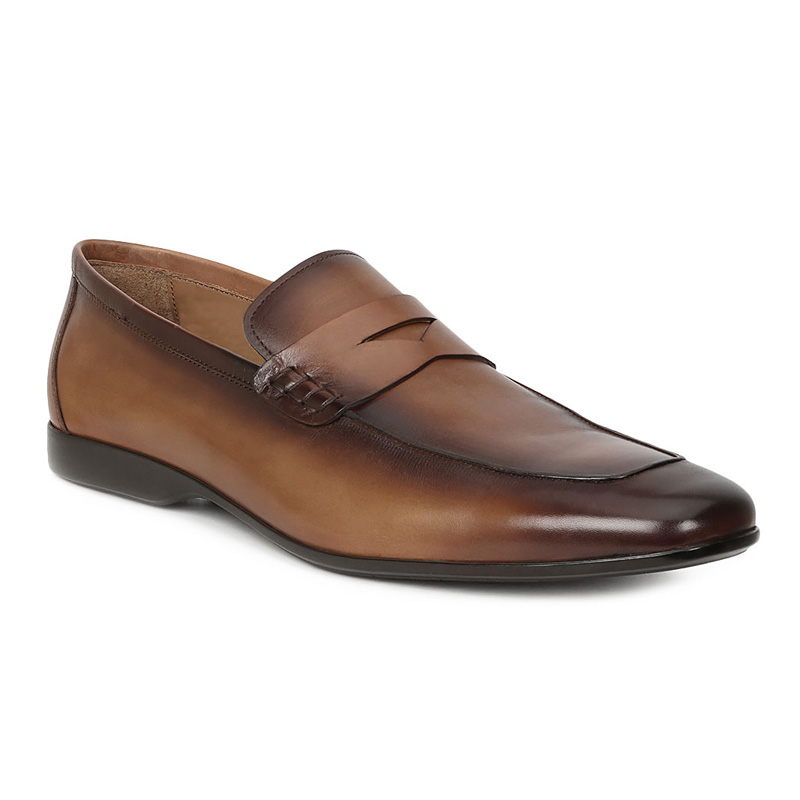 Bruno Magli Margot Penny Loafers Cognac Image