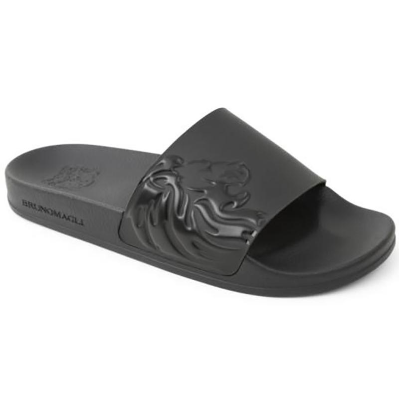 Bruno Magli Messe Slip-on Sandals Black Image