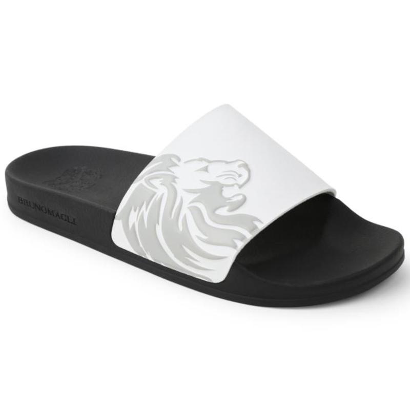 Bruno Magli Messe Slip-on Sandals White Image