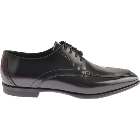Bruno Magli Mianato Shiny Calfskin Dress Shoes Black