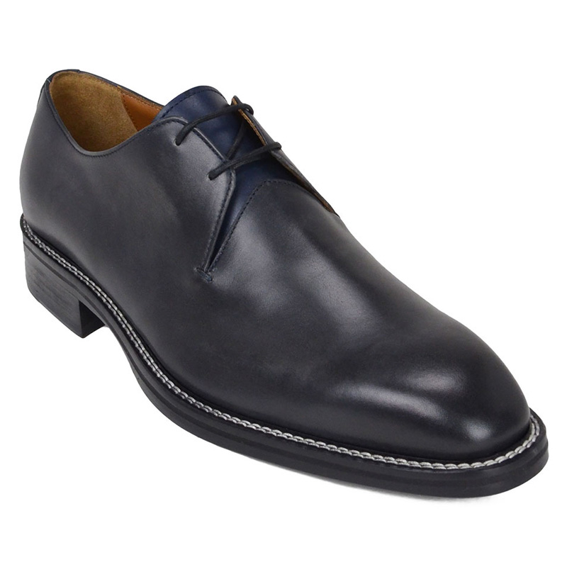 Bruno Magli Norris Dress Shoes Dark Grey Image