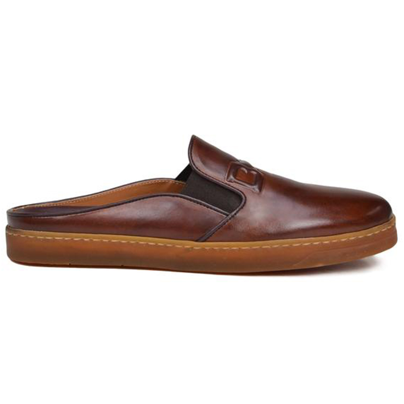 Bruno Magli Orosco Mule With Sport Sole Cognac Image