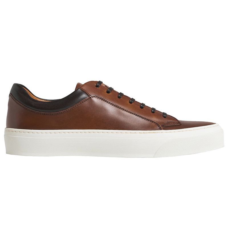 Bruno Magli Oslo Leather Sneaker Cognac Image