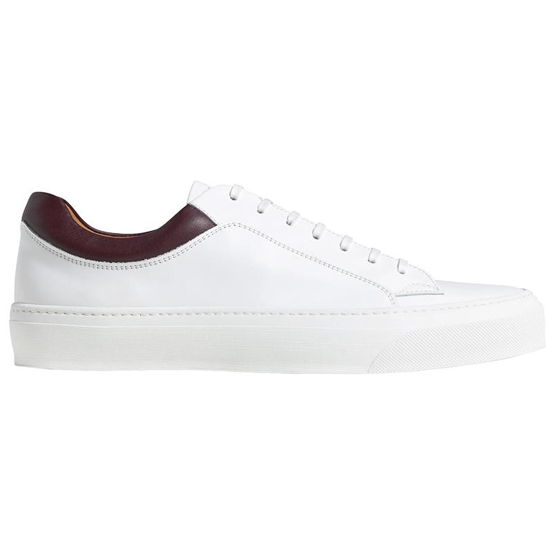 Bruno Magli Oslo Leather Sneaker White Image