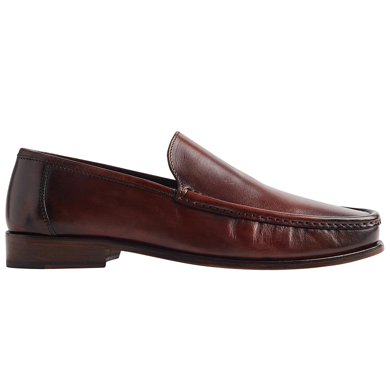 Bruno Magli Positano Venetian Loafer Shoes Cognac Image