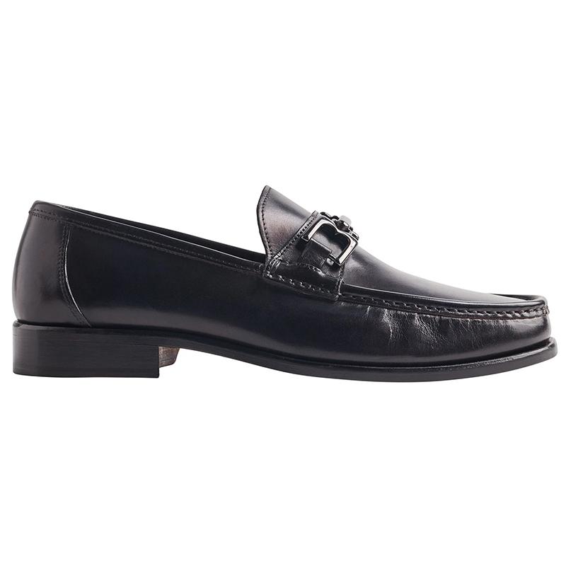 Bruno Magli Premio Leather Bit Loafer Black Image