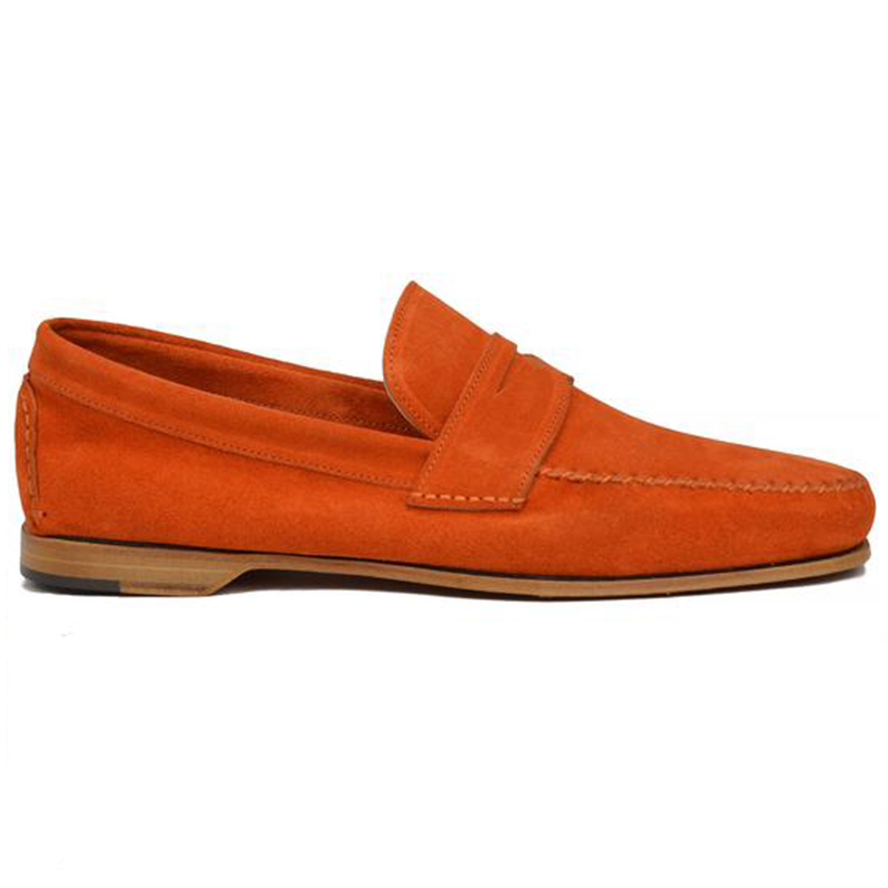 Bruno Magli Riva Slip-on Loafer Orange Image