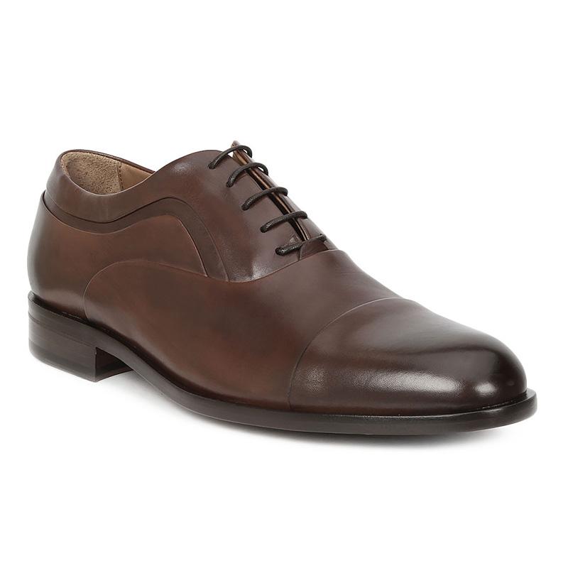 Bruno Magli Sassiolo Oxford Shoes Dark Brown Image