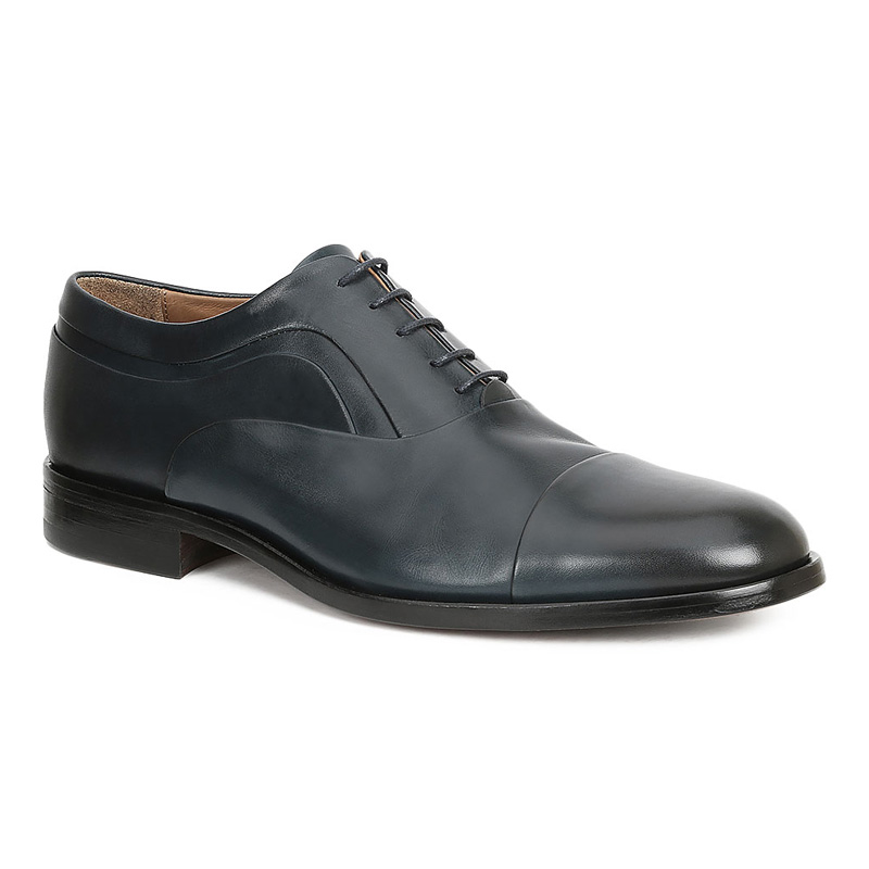 Bruno Magli Sassiolo Oxford Shoes Navy Image