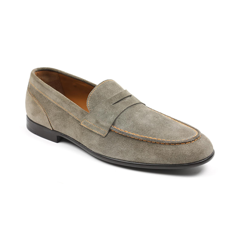 Bruno Magli Silas Penny Loafer Taupe Image