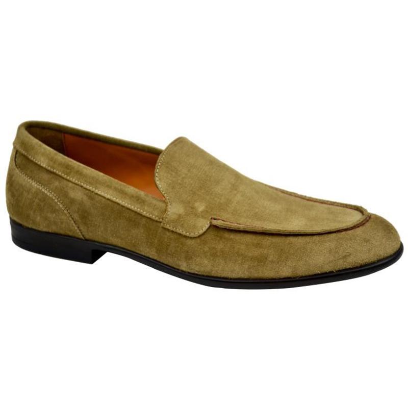 Bruno Magli Sino Plain Vamp Loafers Sand Image