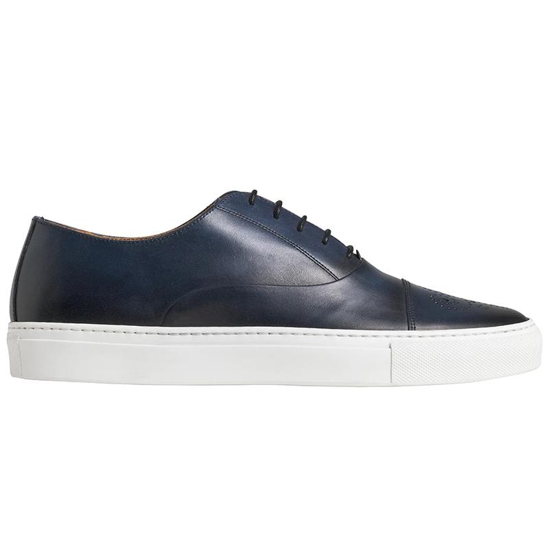 Bruno Magli Stefano Oxford Sneaker Dark Blue Image