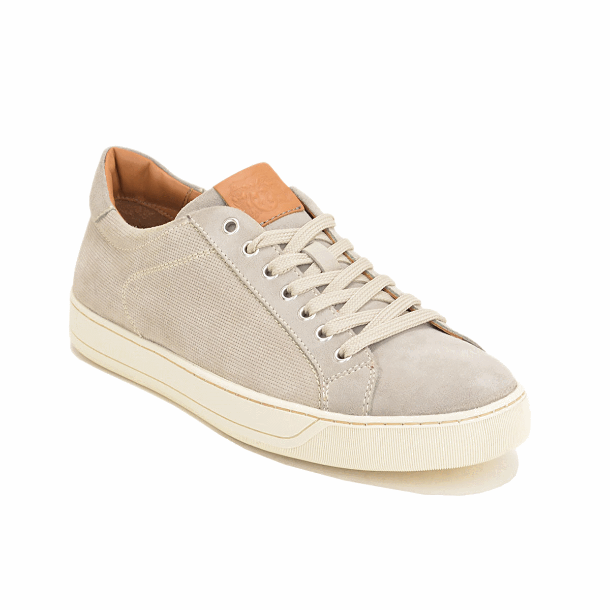 Bruno Magli Walter Suede Sneakers Gray Image