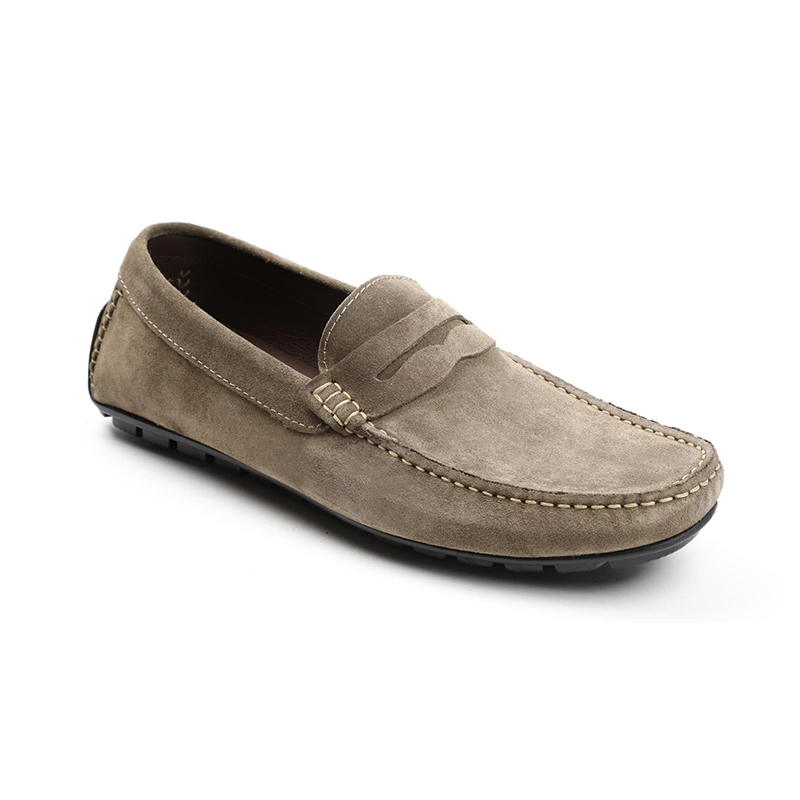Bruno Magli Xeleste Penny Loafer Taupe Suede Image