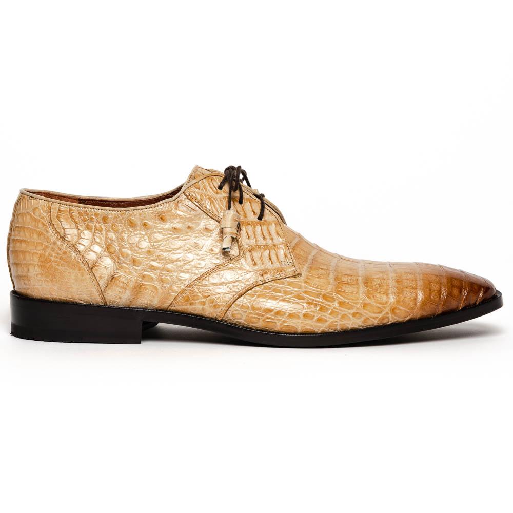 Los Altos Caiman Belly Derby Shoes Faded Oryx Image