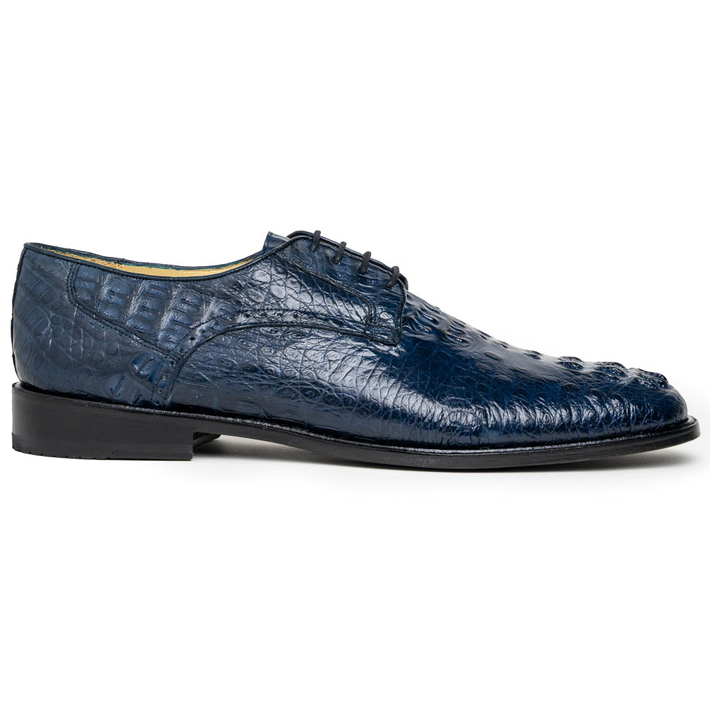 Los Altos Caiman Hornback Shoes Navy Image