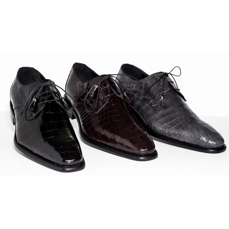 Calzoleria Toscana 7292 Nile Crocodile Shoes Image