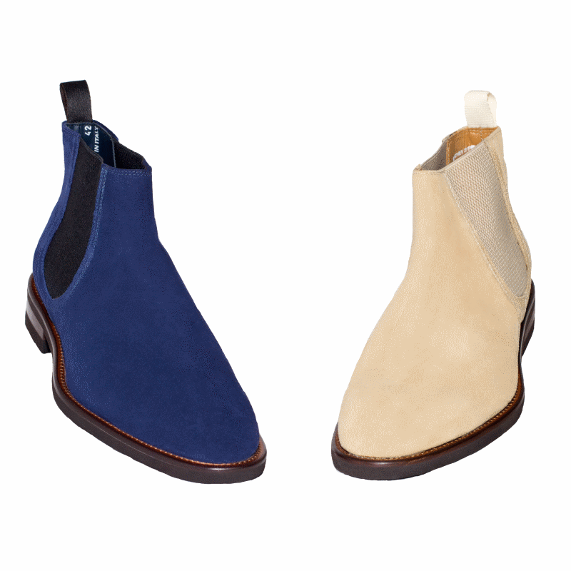 Calzoleria Toscana 8159 Velour Suede Boots Image