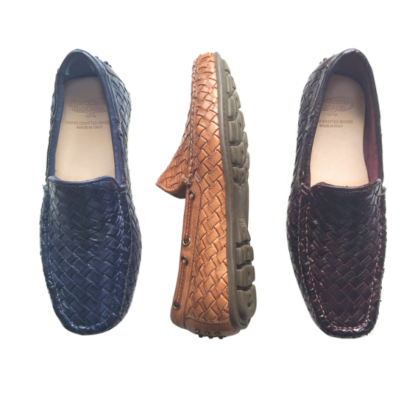Calzoleria Toscana A748 Woven Loafers Image