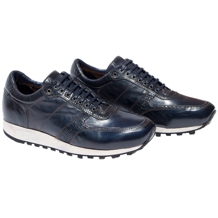Calzoleria Toscana H703 Sneakers Navy Blue Image