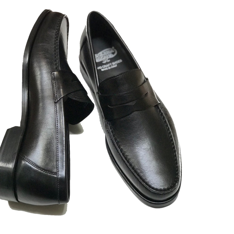 Calzoleria Toscana Santor Penny Loafers Black Image