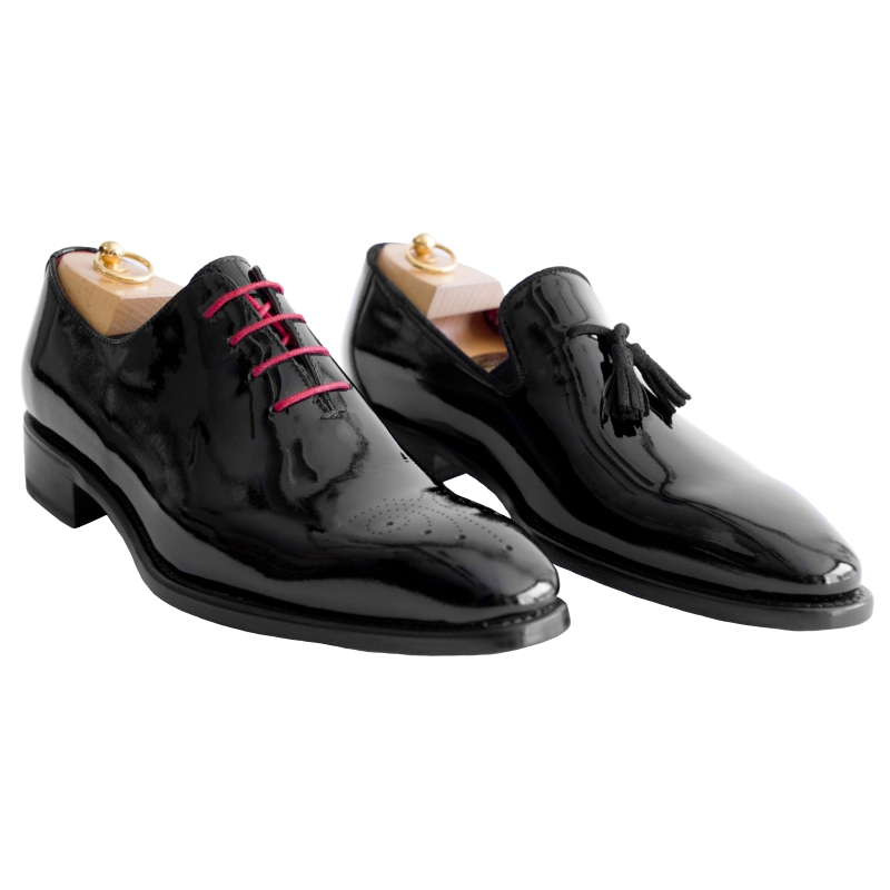 Calzoleria Toscana Z993 or 5246 Patent Leather Black Image