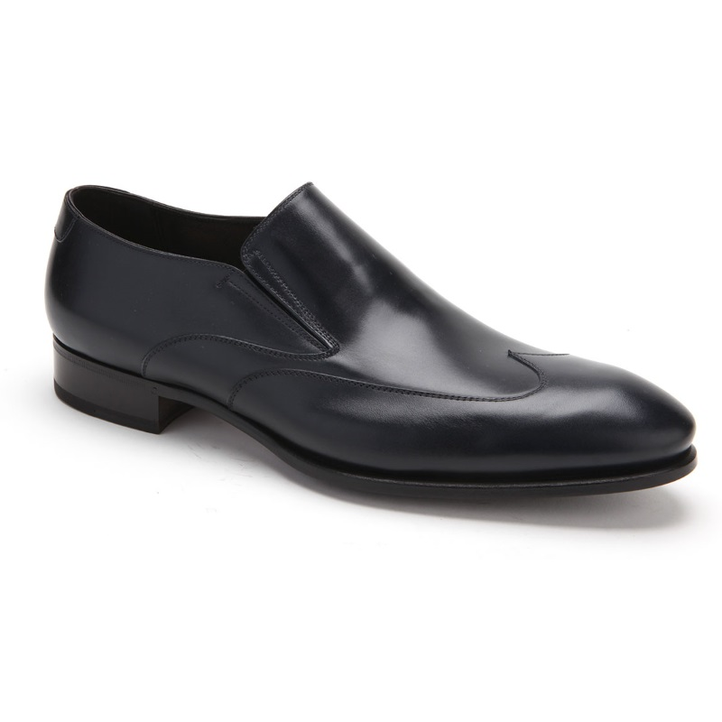 Caporicci 9921 Wingtip Loafers Black Image