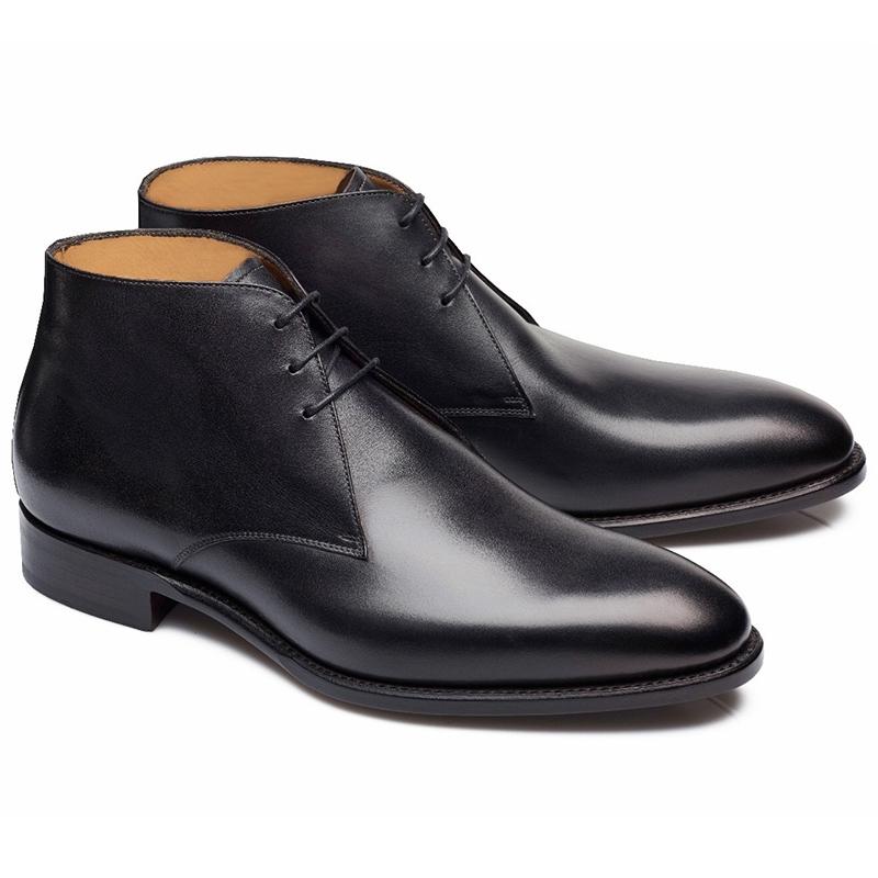 Carlos Santos Charlie 7991 Chukka Boots Noir Shadow Image