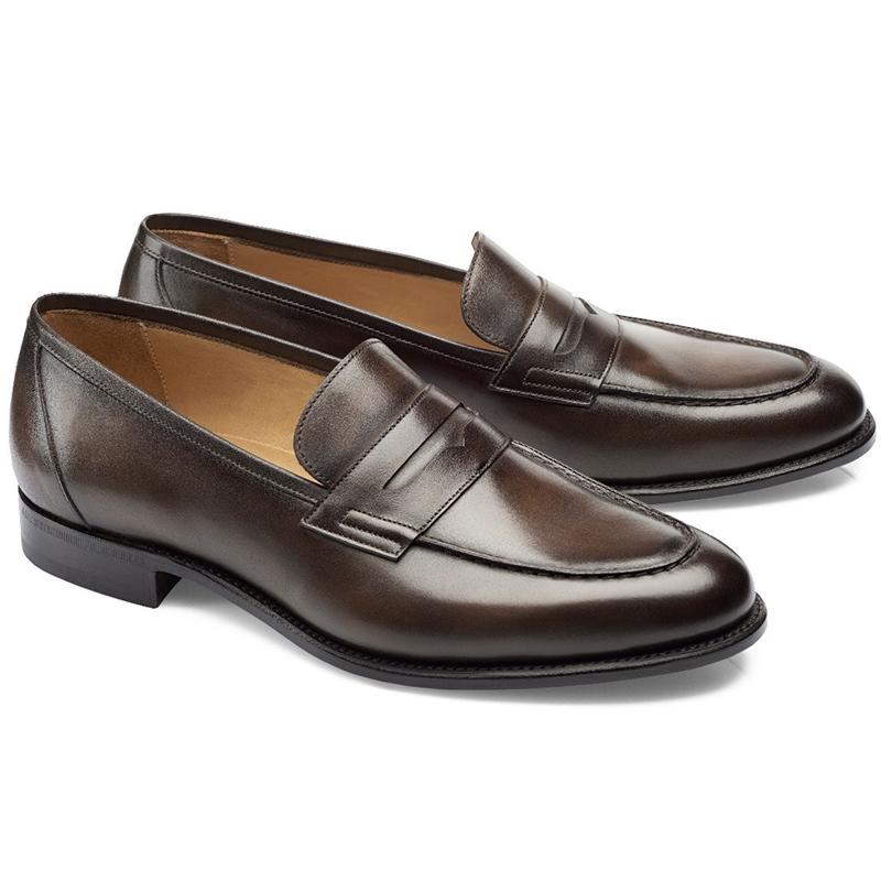 Carlos Santos Elliot 9176 Penny Loafer Shoes Coimbra Image