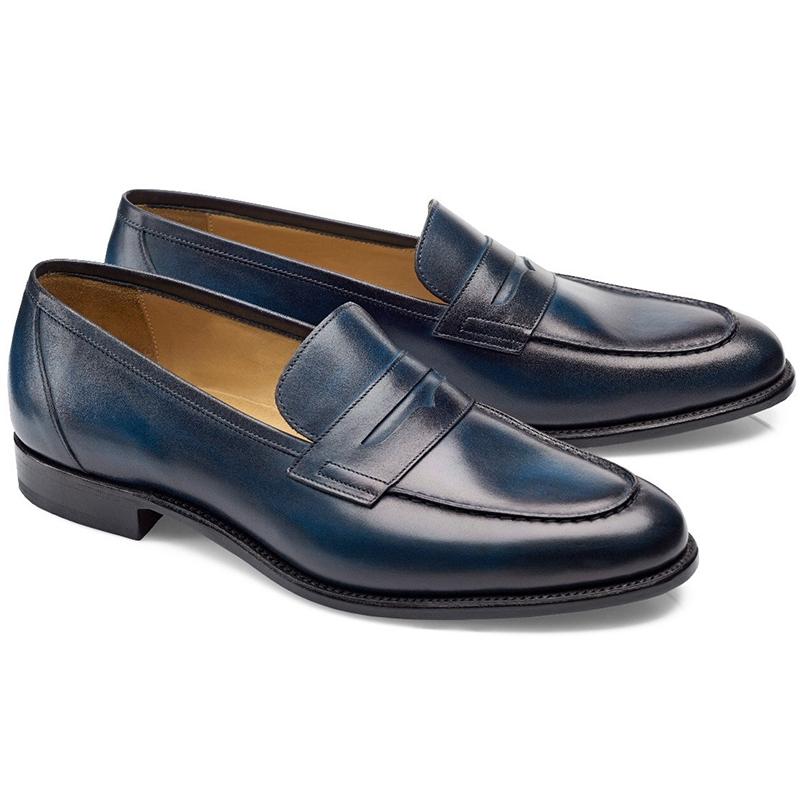 Carlos Santos Elliot 9176 Penny Loafer Shoes Norte Image