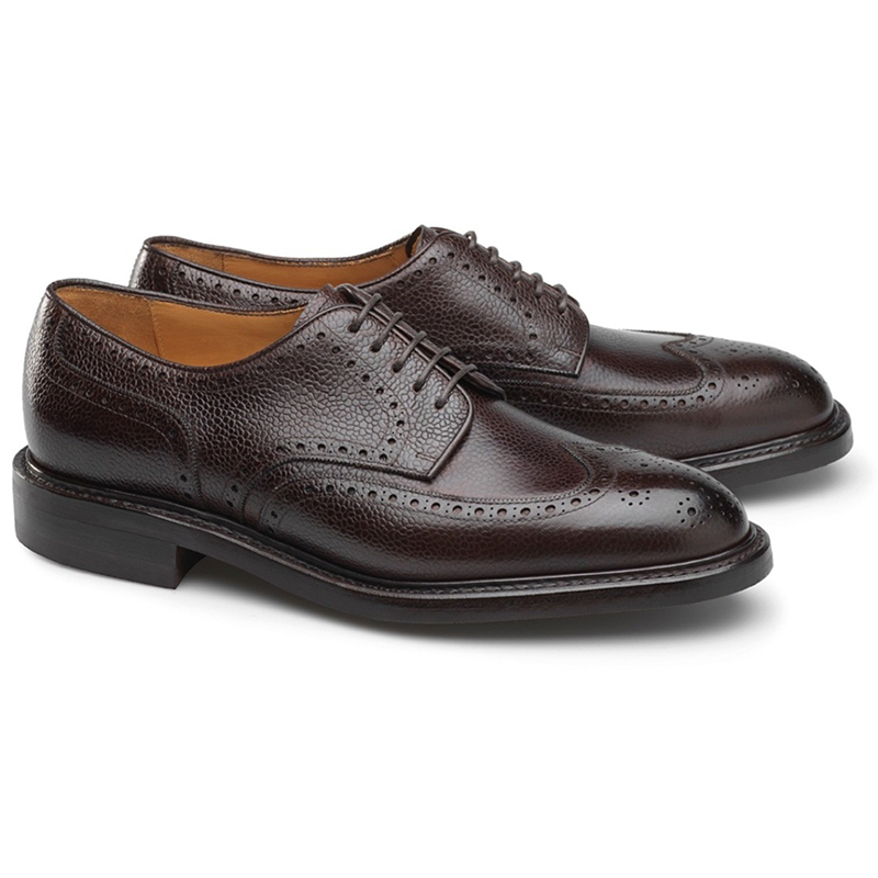 Carlos Santos Eric 9847 Wingtip Shoes Marron Image