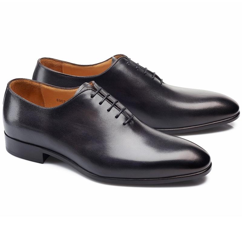 Carlos Santos Francis 6903 Wholecut Shoes Noir Shadow Image