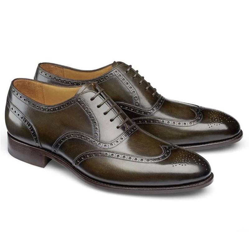 Carlos Santos Frank 7273 Wingtip Shoes Bosco Image