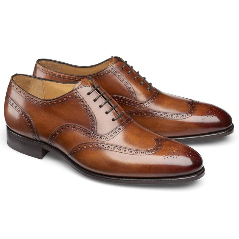 Carlos Santos Frank 7273 Wingtip Shoes Braga Image