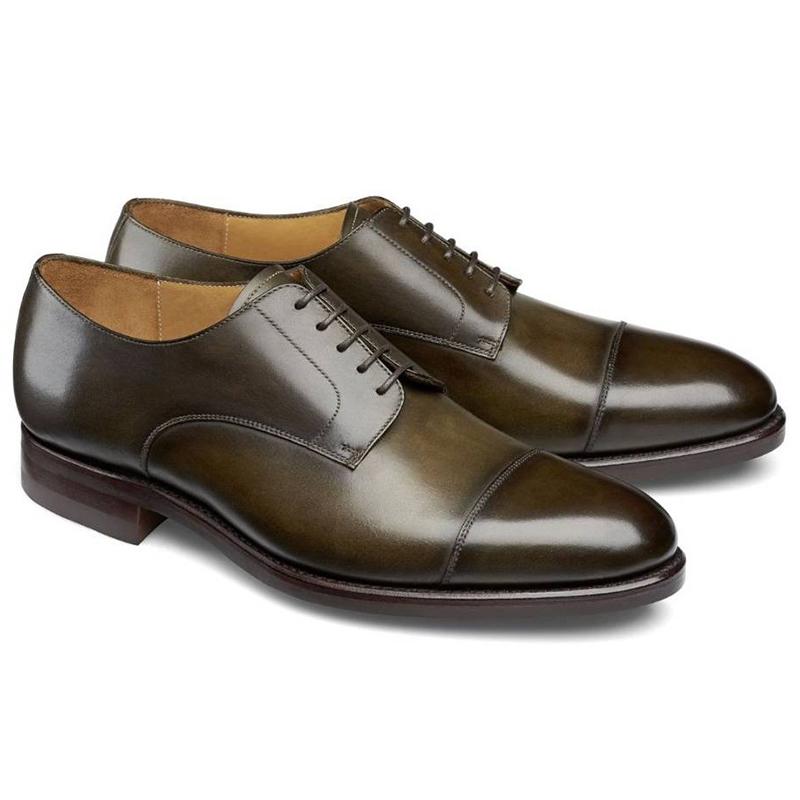 Carlos Santos Gary 9381 Cap Toe Shoes Bosco Image