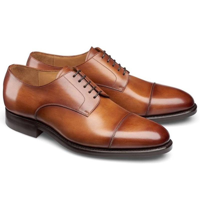 Carlos Santos Gary 9381 Cap Toe Shoes Braga Image