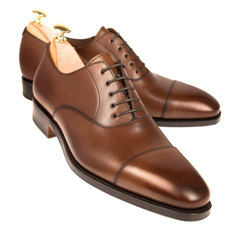Carmina Oxford Shoes 80386 Rain Brown Image