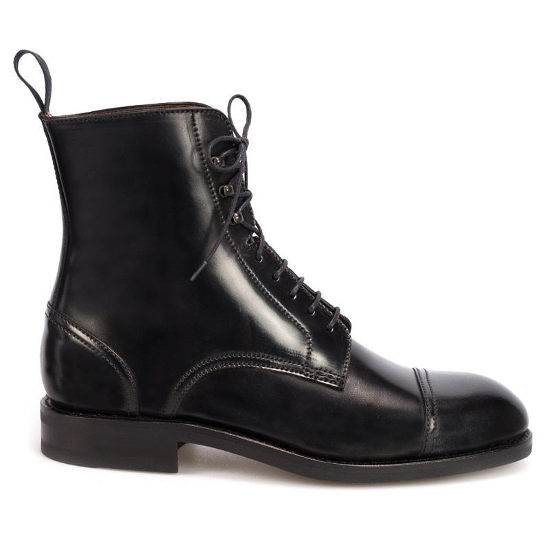 00cf373e957 Carmina Shell Cordovan Jumper Boots 80184 Oscar Black