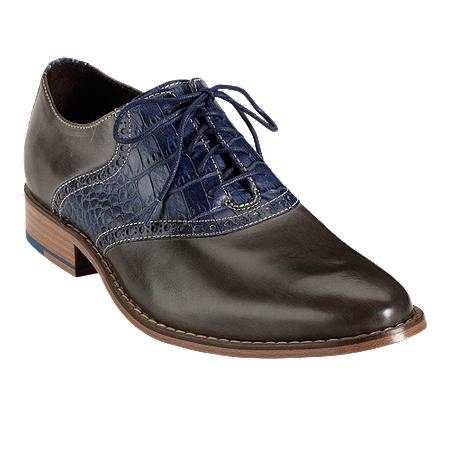 Cole Haan Mens Air Colton Saddle Shoes