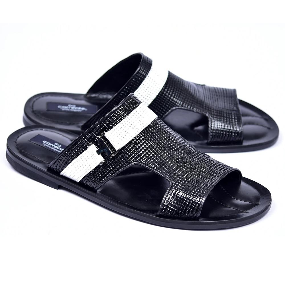 Corrente C003-5828 Sandals Black Image
