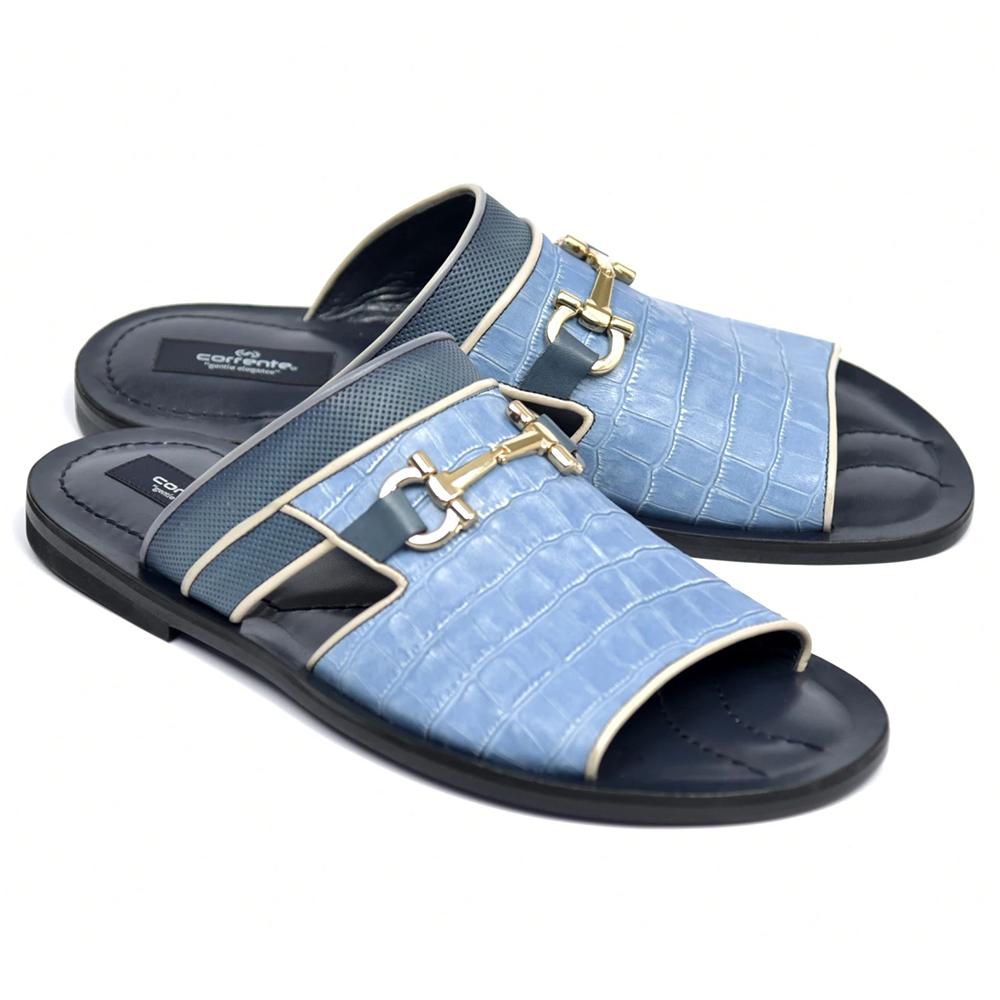 Corrente C0031-5827 Sandals Blue Image