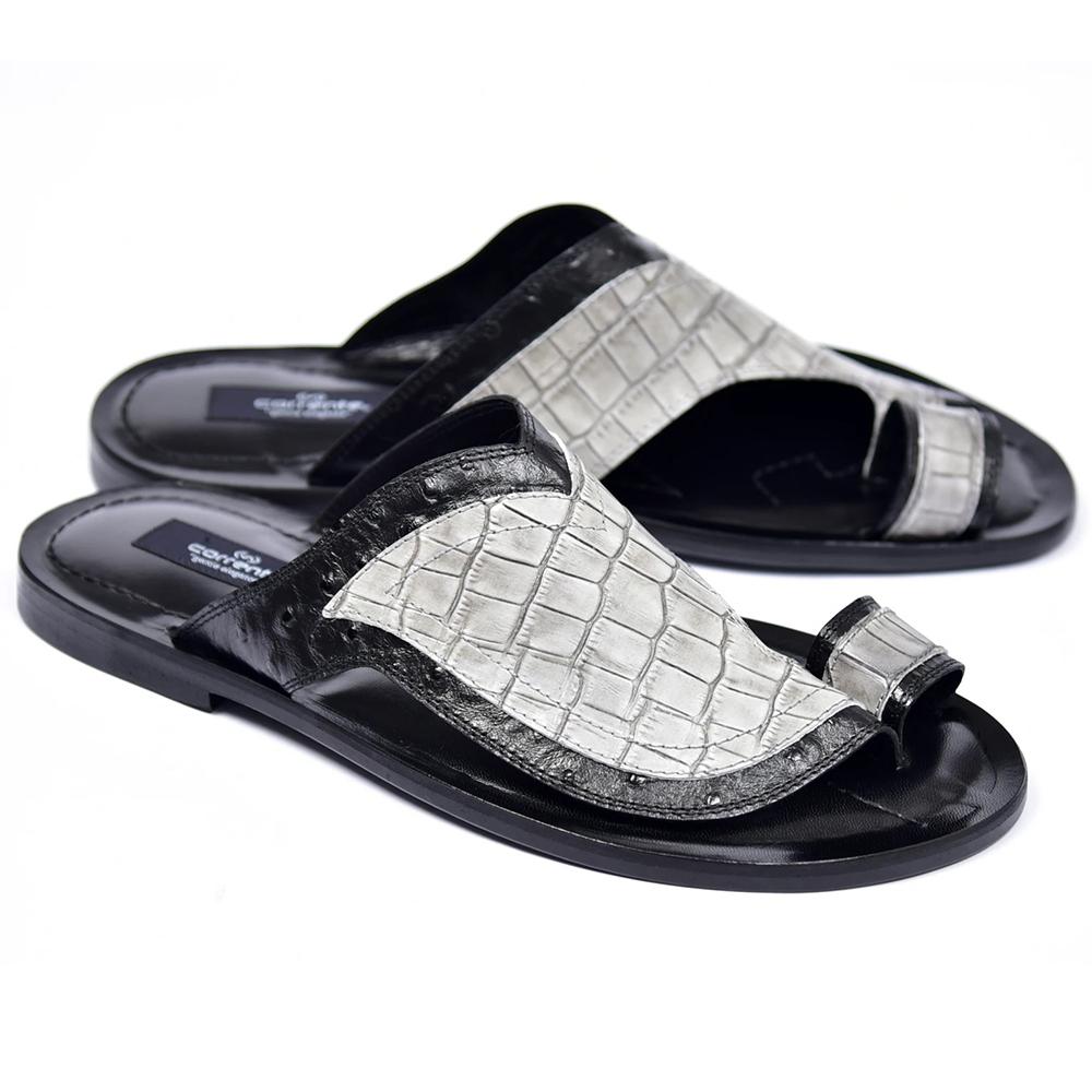 Corrente C0061-5831 Sandals Black/Grey Image