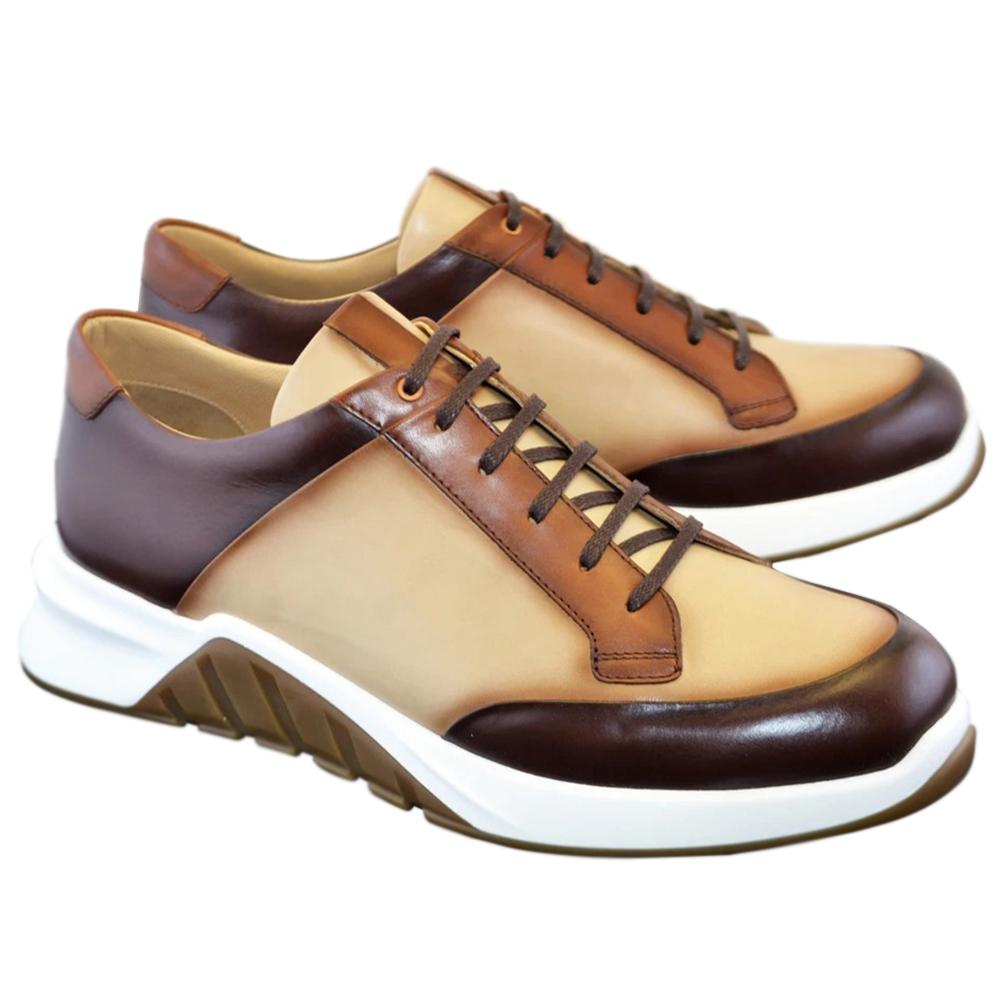 Corrente C035-5569 Fashion Sneakers Beige Brown Image