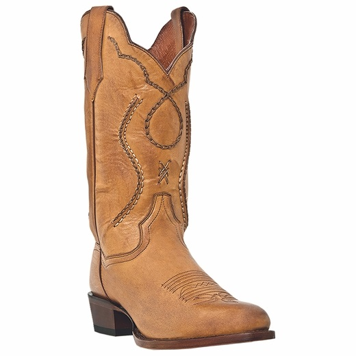 Dan Post Albany DP26690 Western Boots Palomino Image