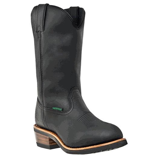 Dan Post Albuquerque DP69680 Waterproof Boots Black Image