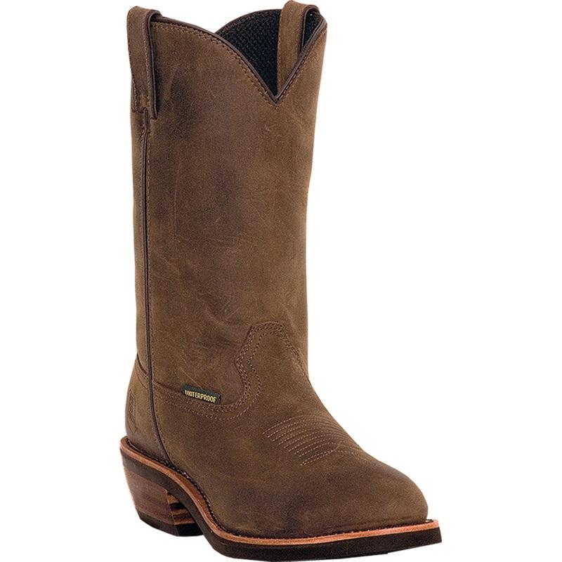 Dan Post Albuquerque DP69681 Waterproof Boots Distressed Tan Image