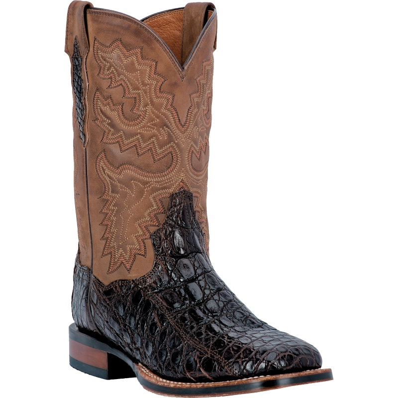 Dan Post Denver DP2806 Western Boots Chocolate Image