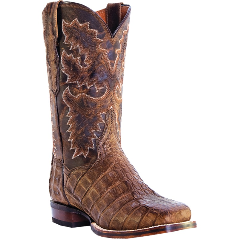 Dan Post Denver DP2807 Western Boots Bay Apache Image